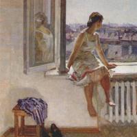 Anatoly Pavlovich Levitin. Warm day
