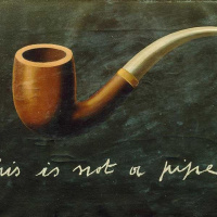The Treachery of Images (This is not a pipe)