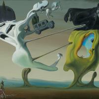 Salvador Dali. Maison pour érotomane