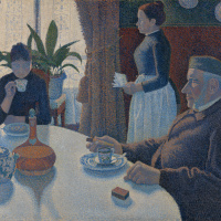 Paul Signac. Breakfast or Dining room