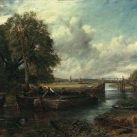 Вид на реку Стаур близ Дедхэма