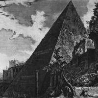 Джованни Баттиста Пиранези. Вид Пирамиды Цестия