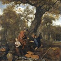Эрисихтон продает в рабство свою дочь Мнестру
