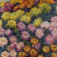 Клод Моне. Хризантемы