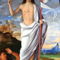 Bissolo Francesco. Die Auferstehung Christi