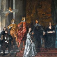 Портрет Филипа Герберта, 4-го графа Пемброка, с семьёй