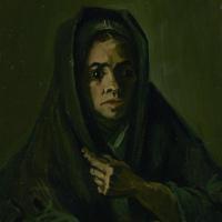 Женщина в траурной шали