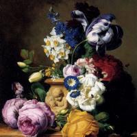 Фердинанд Георг Вальдмюллер. Букет цветов