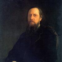 Николай Николаевич Ге. Портрет М.Е. Салтыкова-Щедрина