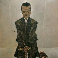 Эгон Шиле. Портрет Эдуарда Космака