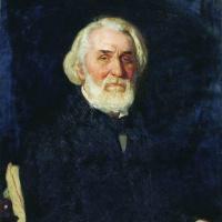 Илья Ефимович Репин. Портрет И. С. Тургенева