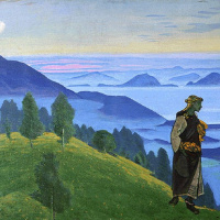 Николай Константинович Рерих. Дочь викинга (Ункрада)
