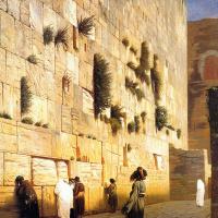 Жан-Леон Жером. Стена Соломона, Иерусалим