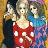 Маргарет Кин. Три девушки