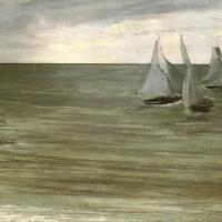 Джеймс Эббот Макнейл Уистлер. Трувиль (Серый и зеленый, серебряное море)