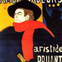 Анри де Тулуз-Лотрек. Аристид Брюан в «Амбассадоре»