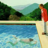 Портрет художника (Бассейн с двумя фигурами)
