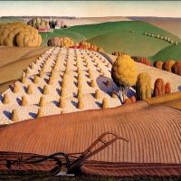 Осень. Вспаханное поле