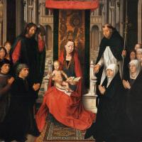 Богоматерь с младенцем, со Святым Иаковом и Святым Домиником или Богоматерь Якоба Флорины