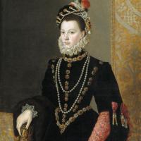 Хуан Пантоха де ла Крус. Елизавета Валуа, жена короля Испании Филиппа II
