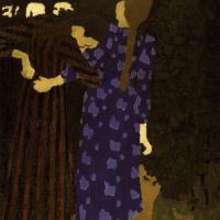 Жан Эдуар Вюйар. Гуляющие девушки