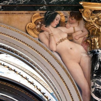 Густав Климт. Флорентийский ренессанс (Роспись для музея истории искусств, Вена)
