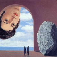 Rene Magritte. Portrait Of STEFI Langueux