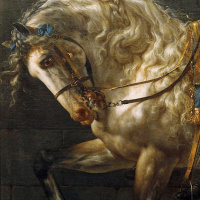 Жак-Луи Давид. Портрет графа Потоцкого. Фрагмент