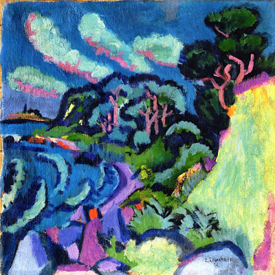 Ernst Ludwig Kirchner. The Island Of Fehmarn