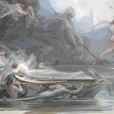 Funeral nymphs