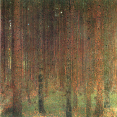 Gustav Klimt. Spruce forest II