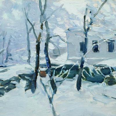 Winter. Frost