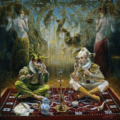 Mikhail Khokhlachov. Hookah storytellers