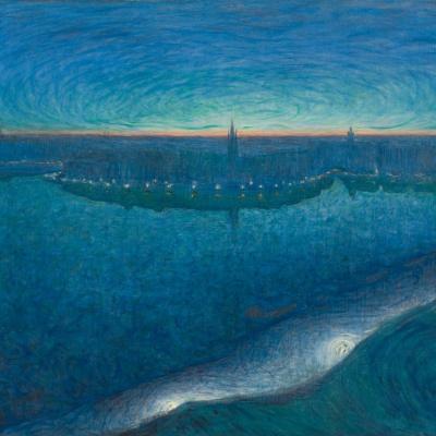 Рассвет над заливом Риддарфьярден
