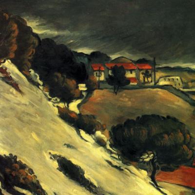 Тающий снег в Эстаке
