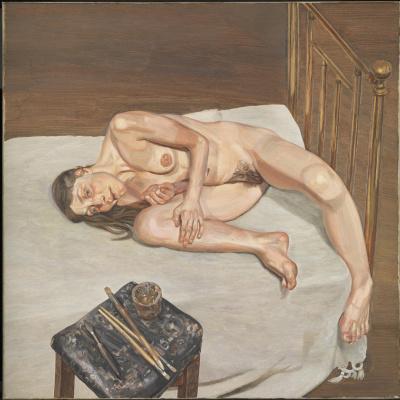 Lucien Freud. Naked Portrait
