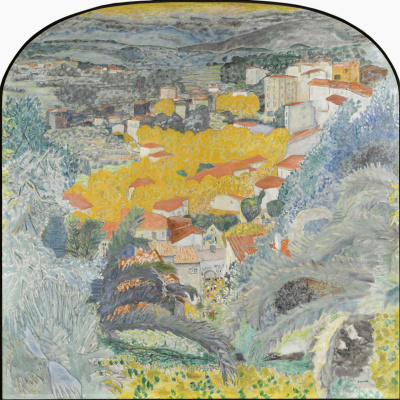 Pierre Bonnard. The view of Cannes