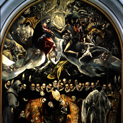 The burial of count Orgaz