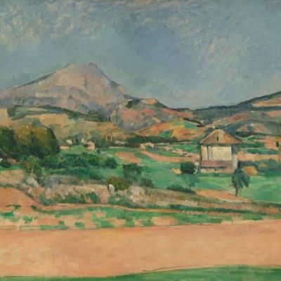 Равнина у горы святой Виктории, вид со стороны Валькро