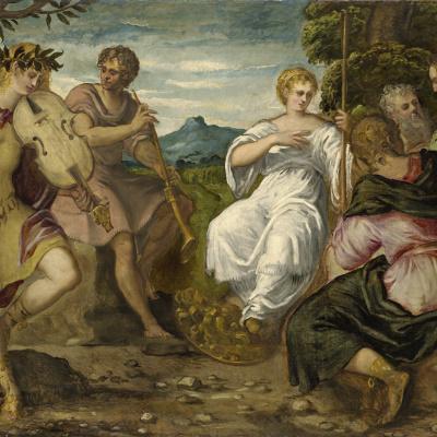 Состязание Аполлона и Марсия