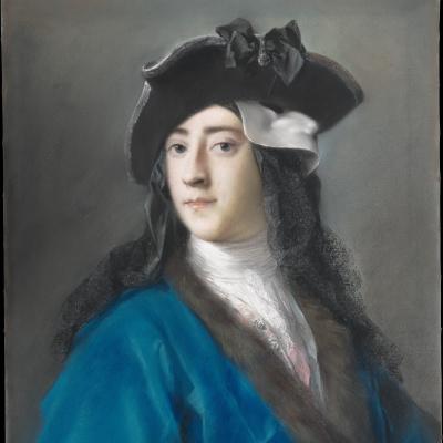 Gustav Hamilton, 2nd Viscount Boyne in a fancy dress