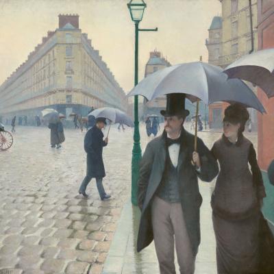 Paris. Rainy day