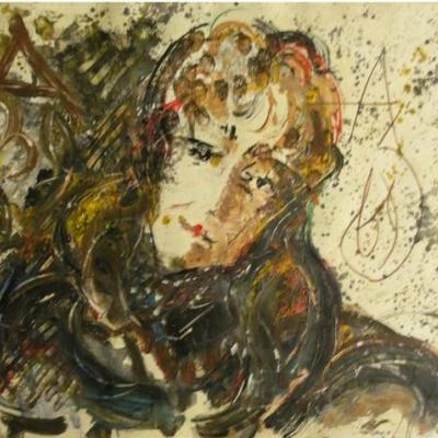 Portrait Of M. Aseeva