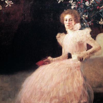 Gustav Klimt. Portrait of Sonja Knips II