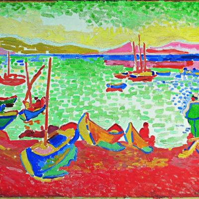 Лодки в порту Коллиура