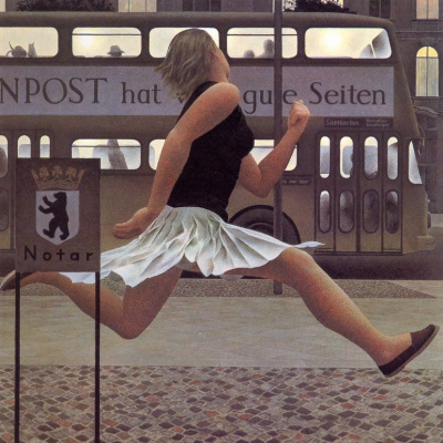 Alex Colville. Berlin bus