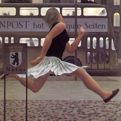 Alex Colville. Berlin bus