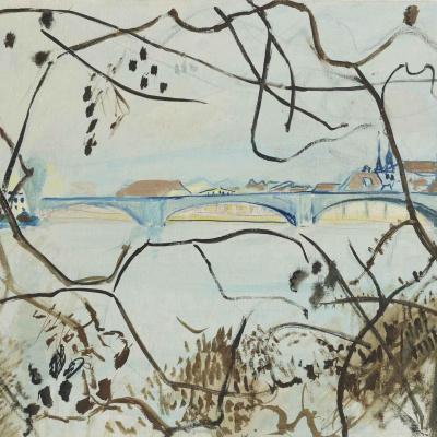 Пейзаж с мостом, Золотурн
