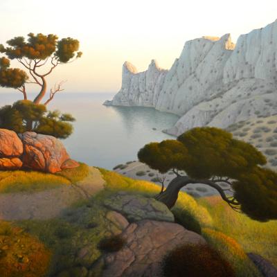 Весенний Вечер в Крыму (Spring Evening in Crimea)