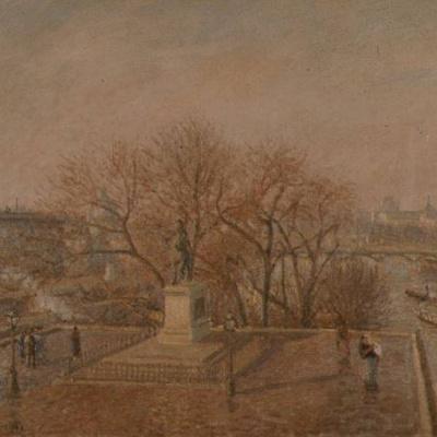 The Pont-Neuf. Winter morning
